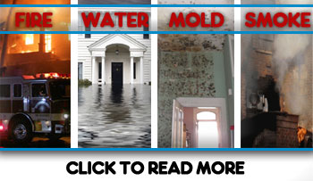 Water Removal, Basement Flood, Smoke, Fire